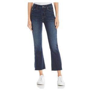 New PAIGE Colette Cropped Flare Jeans